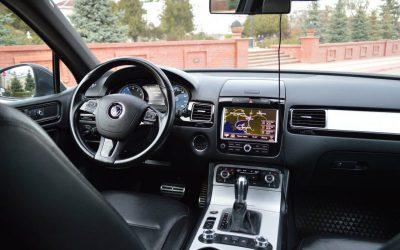 VW Touareg — установка двойных стекол в Казани