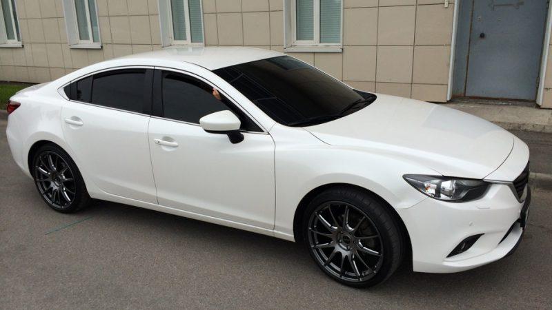 Mazda 6 — установка двойных стекол на автомобиль