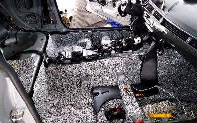 Шумоизоляция салона автомобиля Audi A5 — 2019