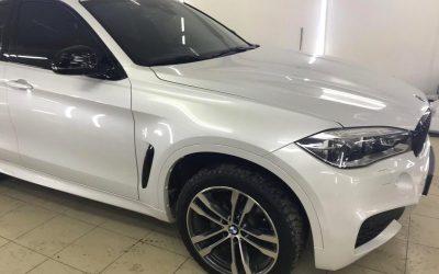 Установка двойных стекол на автомобиль BMW X6