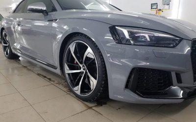 Audi RS5 — комплекс работ
