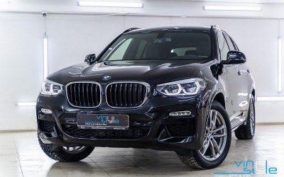 BMW X3 — бронирование всего автомобиля пленкой HOGOMAKU PRO