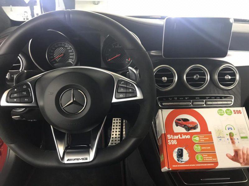 Mercedes AMG A45 — установка автосигнализации S96