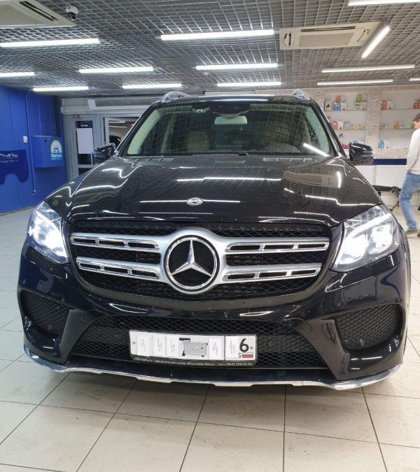 Установка электромагнитов Mercedes-Benz GLS 350