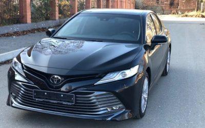 Toyota Camry — установка электромагнитов в Казани