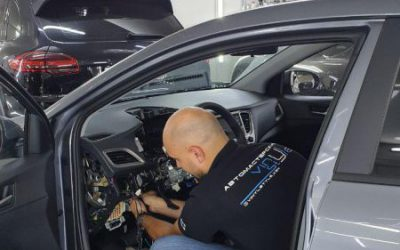 Hyundai Creta — установка автосигнализации StarLine на автомобиль