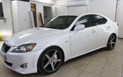 Lexus IS 250 — тонировка боковых стекол авто пленкой Ultravision 65%