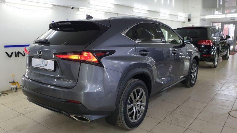 Lexus NX — затонировали стекла автомобиля премиальной пленкой Llumar 95%