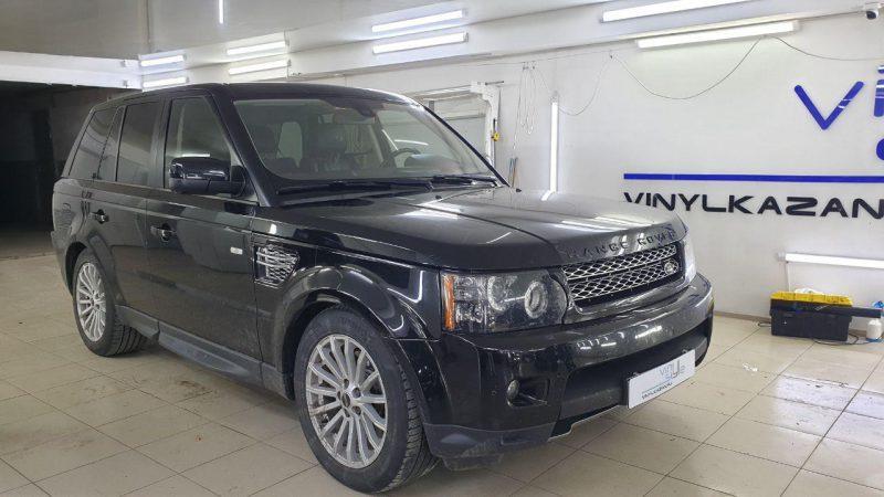 Rang Rover — атермальная тонировка лобового стекла, тонировка боковых и задних стекол пленкой Carbon