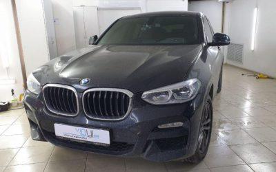 BMW X4 — тонировка по кругу пленкой премиум класса Llumar 95%