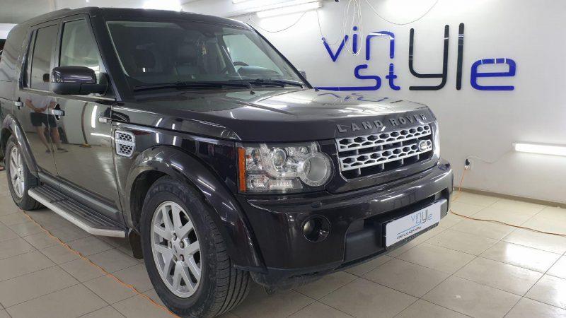 Land Rover Discovery — замена лампочек ближнего света и габаритов в Казани