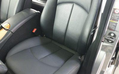 Mercedes E220 — перешив сиденья, полировка фар, химчистка салона, тонировка
