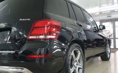 Mercedes GLK 220 — полная полировка кузова и нанесение керамики в 2 слоя