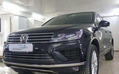 Volkswagen Touareg — комплекс работ от автостудии Vinyl Style