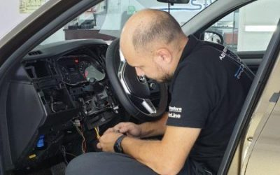 Renault Arkana — установка автосигнализации Starline A93