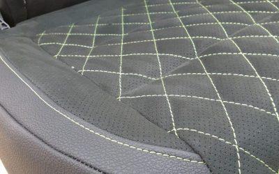 Перешив сидений автомобиля VW Tiguan