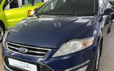 Ford Mondeo — ремонт вмятины на двери без покраски
