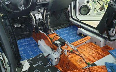 VW Tiguan — комплексная шумоизоляция автомобиля