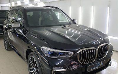 BMW X5 — забронировали весь кузов полиуретановой плёнкой Premium класса HOGOMAKU