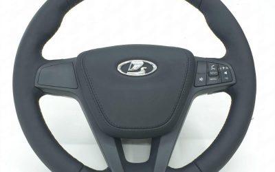Перешив руля кожей Nappa для автомобиля Lada X-Ray