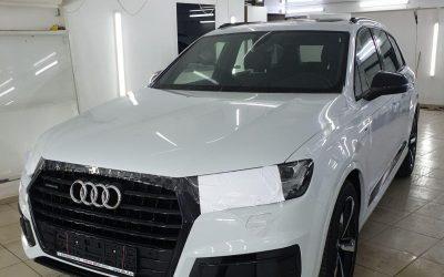 Комплексное бронирование кузова автомобиля Audi Q7