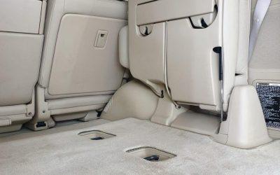 Lexus LX570 — комплексная химчистка автомобиля и полировка