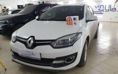Renault Megan — установка охранного комплекса Starline A93 ECO