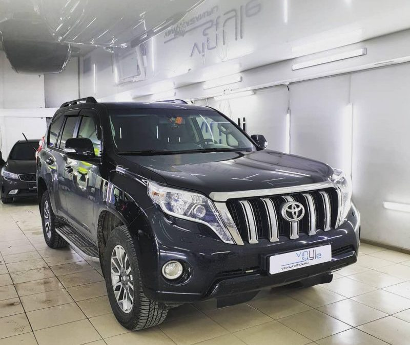 Затонировали Land Cruiser Prado пленкой SunTek