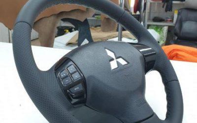 Перетяжка руля автомобиля Mitsubishi Outlander