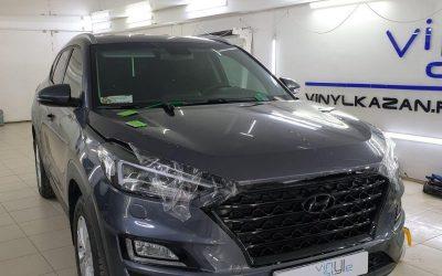 Hyundai Tucson — бронирование автомобиля полиуретановой пленкой