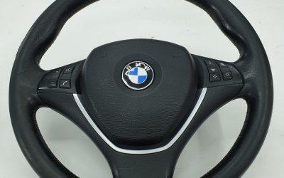 Перешив руля BMW X5 с восстановление функции обогрева