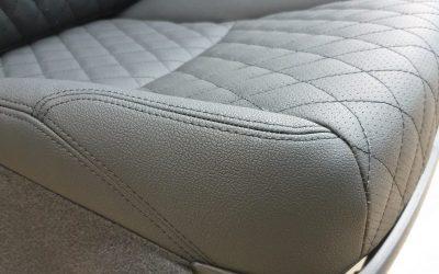 Перешив сидений Toyota Land Cruiser Prado в кожу с перфорацией