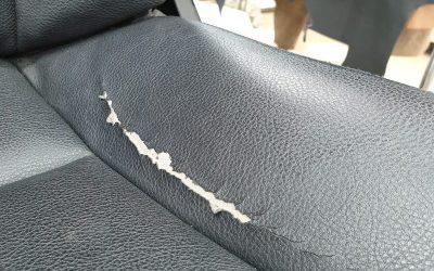 BMW 520D — ремонт водительского сидения