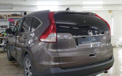 Honda CR-V и очередной ремонт вмятины без покраски