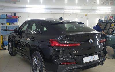 BMW X4 — установка автосигнализации Starline S96, тонировка стекол пленкой ULTRAVISION 50%