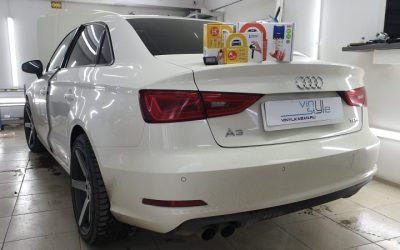 Audi A3 — установили охранный комплекс Starline A93, дооснастили GSM и GPS модулем