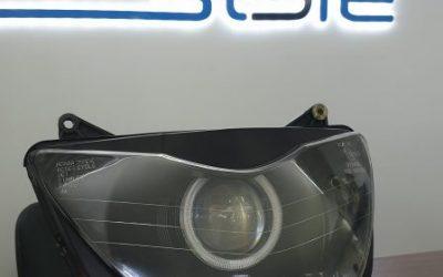 Honda — установили Bi-LED линзу, сделали ангельские глазки, оклейка ветрового стекла