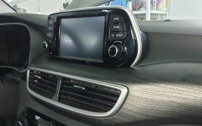 Hyundai Tucson — шумоизоляция автомобиля, аквапринт, бронирование полиуретановой пленкой