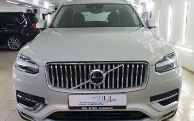 Комплексное бронирование автомобиля Volvo XC90 полиуретановой пленкой