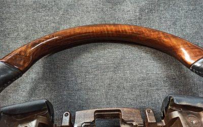 Восстановление заводского принта руля и ручки КПП от Land Cruiser Prado