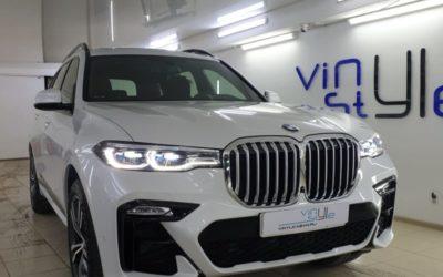 BMW X7 — бронирование кузова полиуретановой пленкой