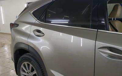Lexus NX200 — затонировали премиальной пленкой Johnson SP 85%