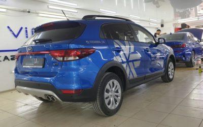 Брендирование автомобиля KIA в Казани для компании Siberian Wellness