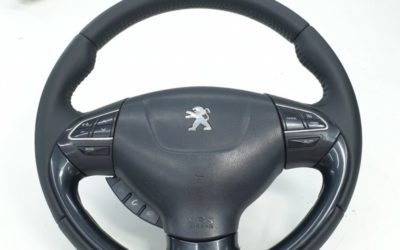 Перетяжка руля автомобиля Peugeot