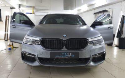 BMW 5 series и BMW GT320 — тонировка стекол пленкой UltraVision