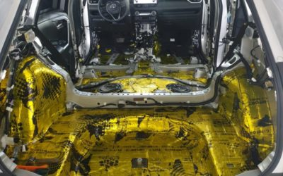 Шумоизоляция автомобиля Toyota RAV4 по АКЦИИ!