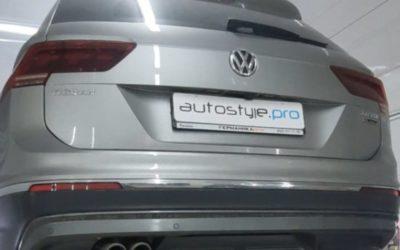 Чип тюнинг дизельного автомобиля VW Tiguan NEW 2.0 TDI от AGP Motorsport Stage 1