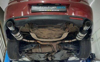 Mazda 6 — замена стоковых банок, установка декоративных насадок