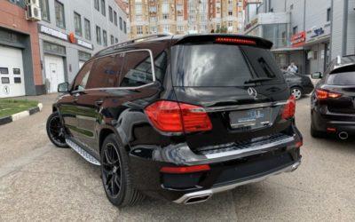 Mercedes Benz GLS — покраска суппортов, активный выхлоп, полировка кузова, керамика, ремонт вмятин, бронирование