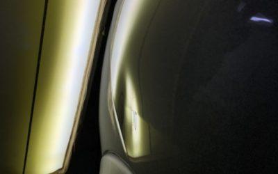 Беспокрасочный ремонт вмятин на автомобиле Nissan Juke